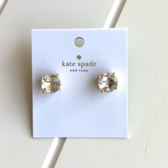 Kate Spade CZ Dazzle Gumdrop Stud Earrings
